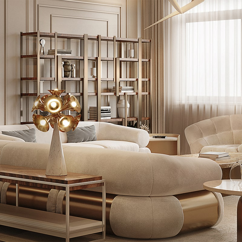 contemporary modern penthouse