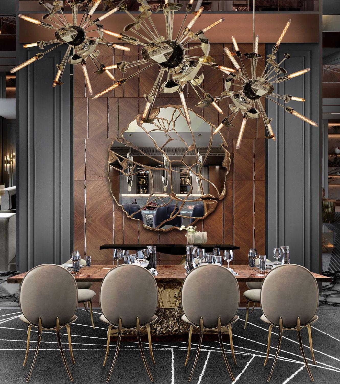 dining room - $8,5 MILLION MODERN CLASSIC VILLA
