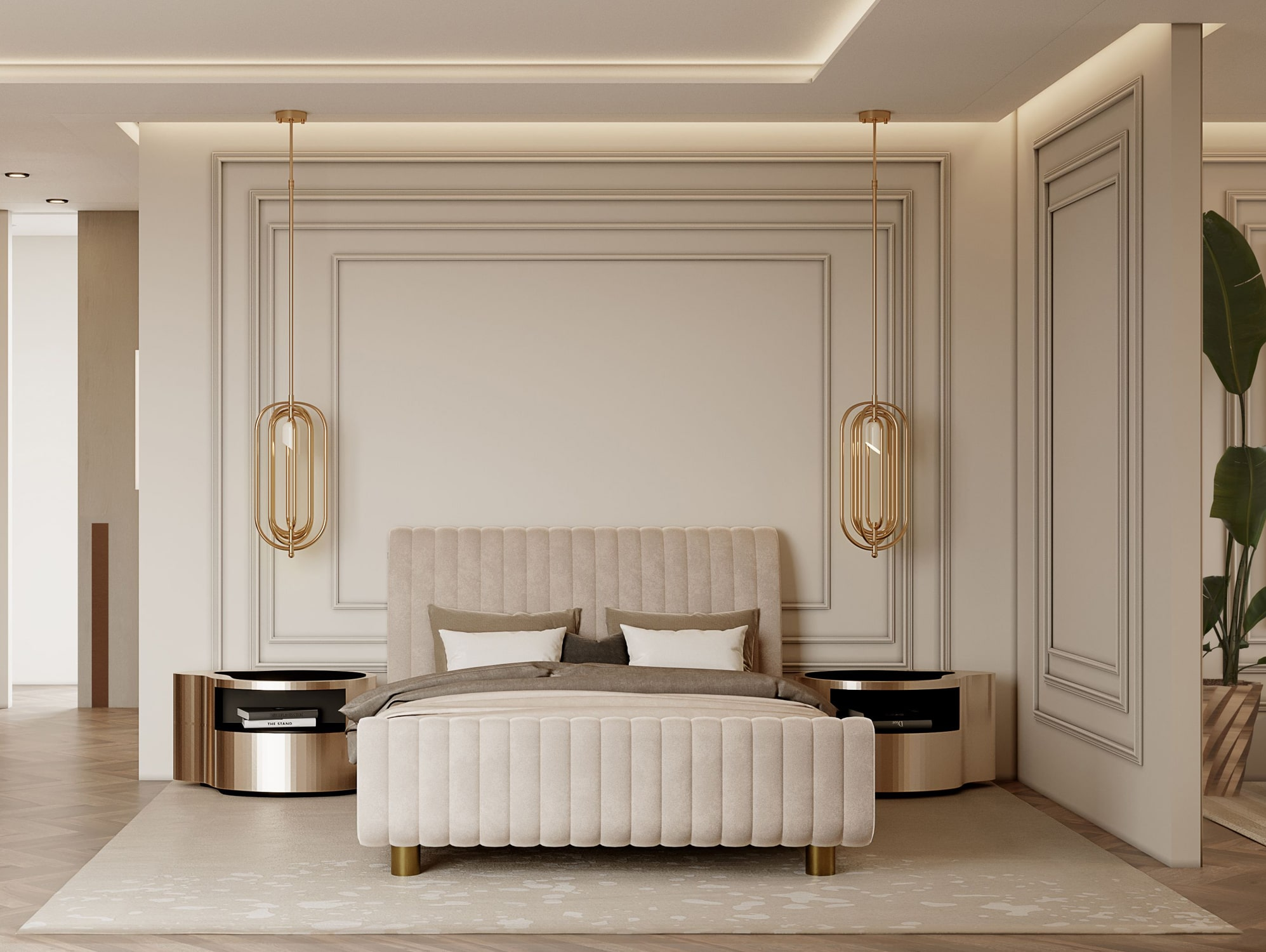 master suite - AN EXCEPTIONAL CONTEMPORARY MODERN 16 MILLION PENTHOUSE IN MONACO