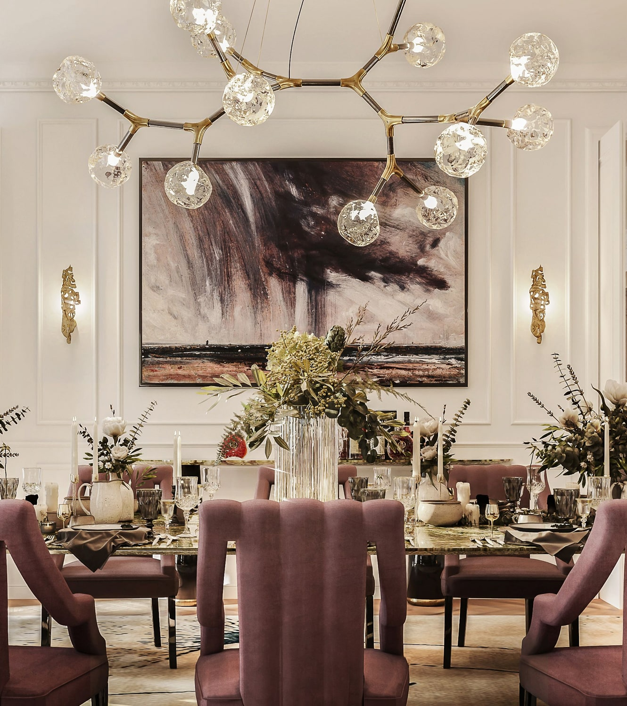 "dining room - the ""éternel"" parisian apartment"