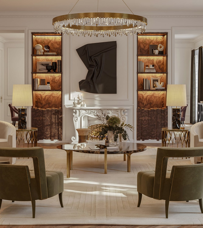 "living room - the ""éternel"" parisian apartment"