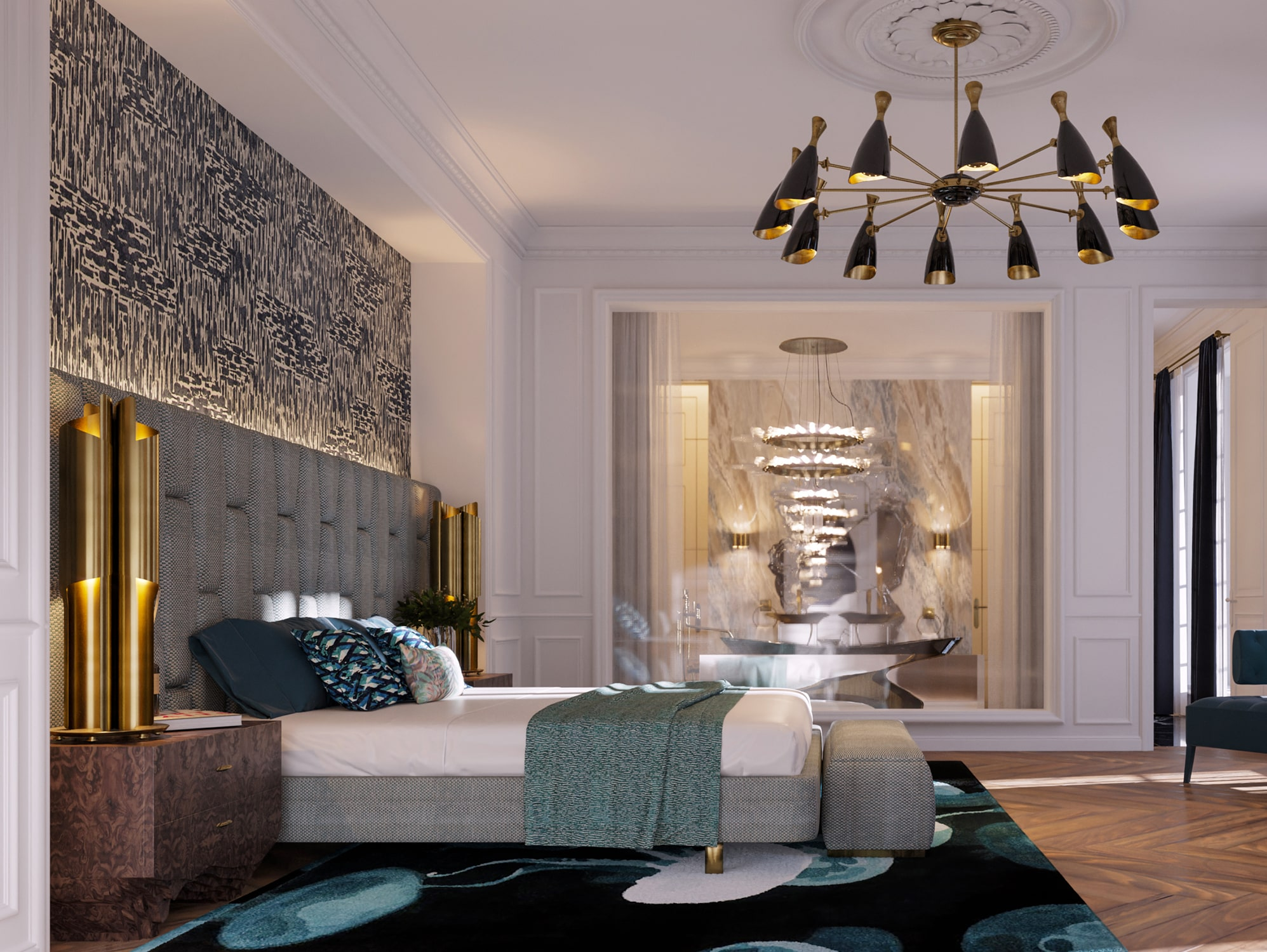 """master suite - the """"éternel"""" parisian apartment"""